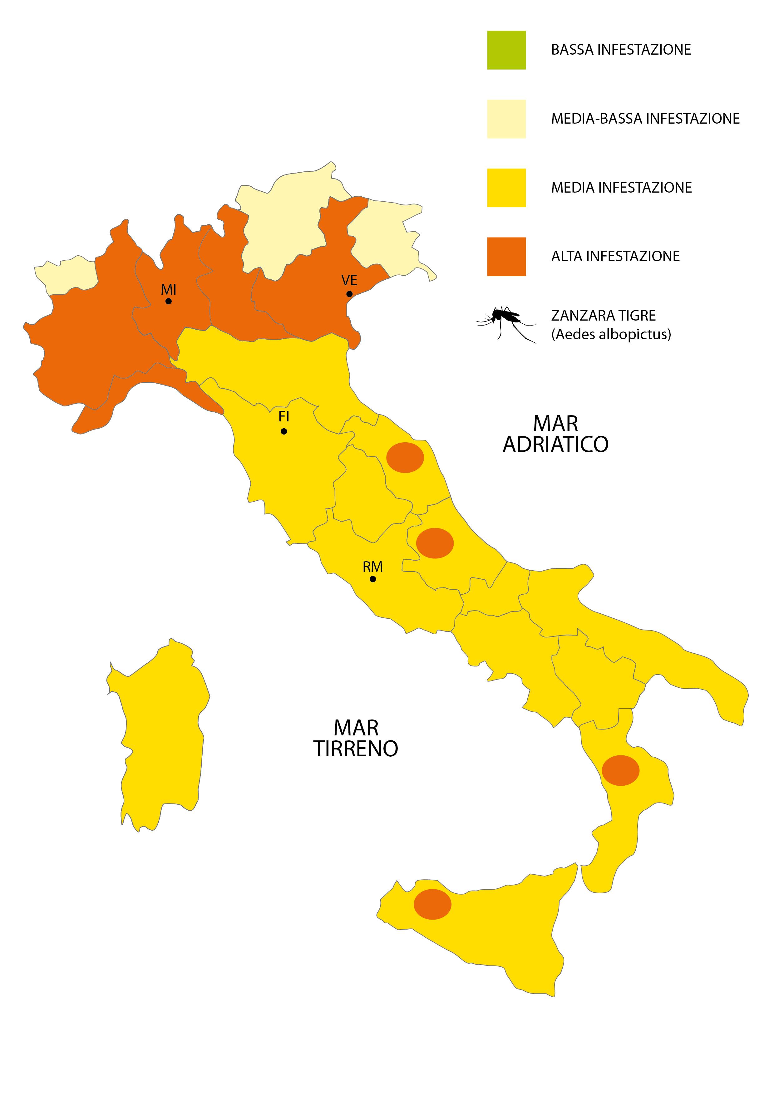 Cartina toscana Province