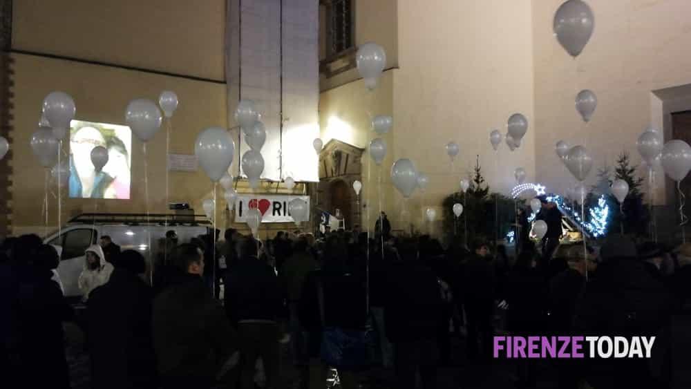 Presidio per Riccardo Magherini in piazza Santo Spirito