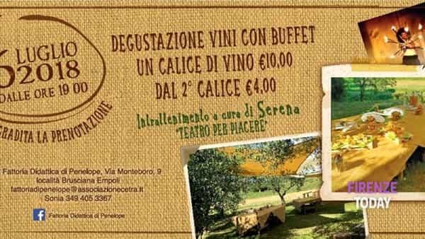 Country & Wine: aperiviniamo nell'oliveta