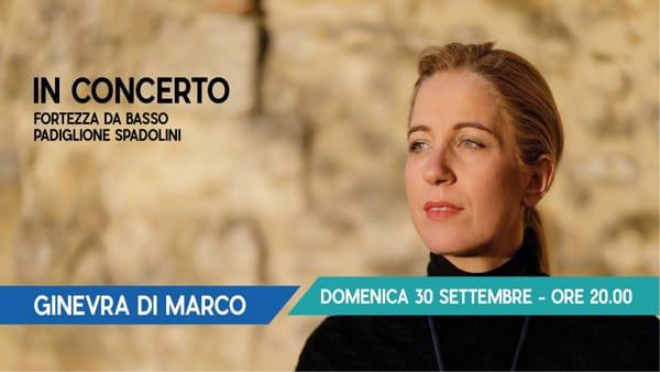Ginevra di Marco omaggia Tenco alla Fortezza