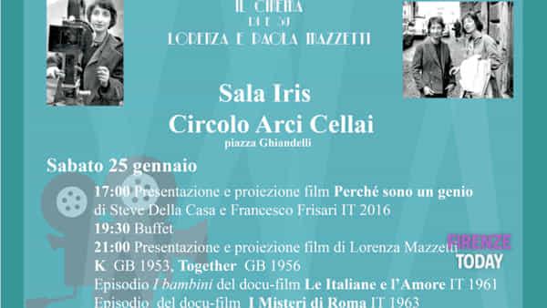 Together: il cinema di e su Lorenza e Paola Mazzetti