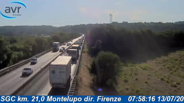 Traffico sulla FiPiLi: rallentamenti a causa dei lavori
