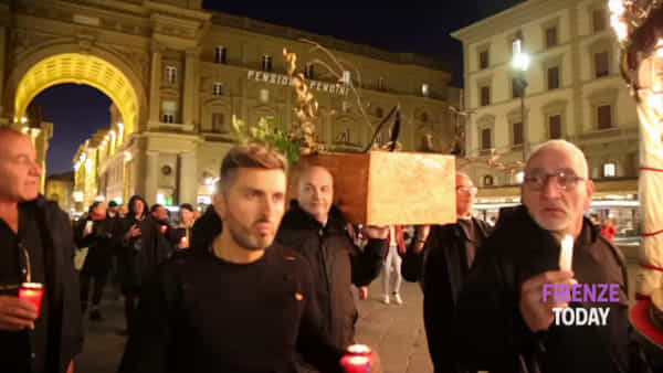 """Funerale dell'albero: """"Fare la giusta manutenzione"""" / VIDEO"""