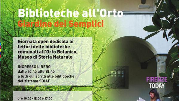 Biblioteche all'orto all'Orto Botanico