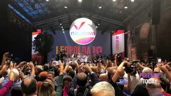 Leopolda10: ecco il simbolo di Italia viva / VIDEO