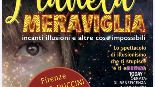 """Serata di beneficenza al Teatro Puccini per il progetto """"Il Filo di Arianna"""""""