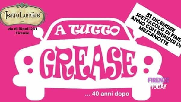 Ultimo dell'anno: arriva a teatro Grease