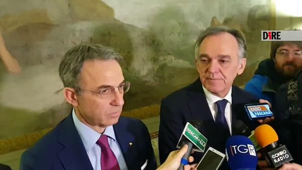 """Rossi e Costa firmano accordo: """"Stufe e auto con meno emissioni"""""""