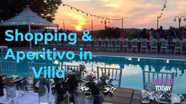 Shopping & aperitivo in Villa