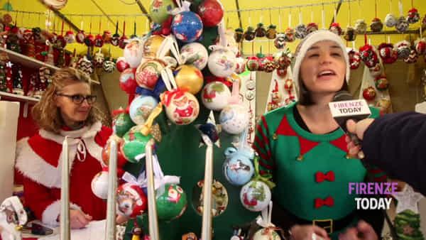 Natale 2019: il mercatino tedesco torna in piazza Santa Croce / VIDEO