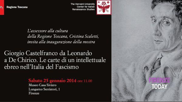 Le carte di Giorgio Castelfranco al Museo Casa Siviero
