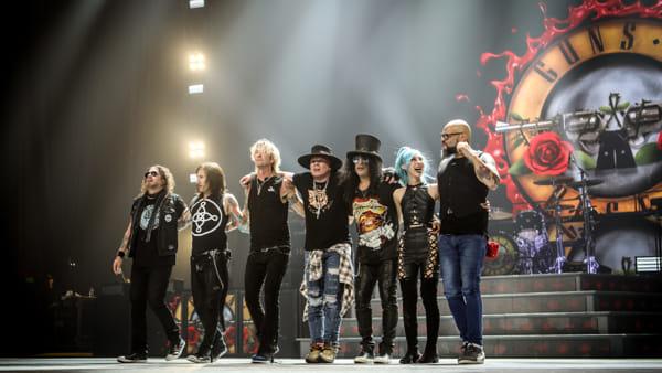Guns N' Roses al FirenzeRocks: unica tappa italiana del tour