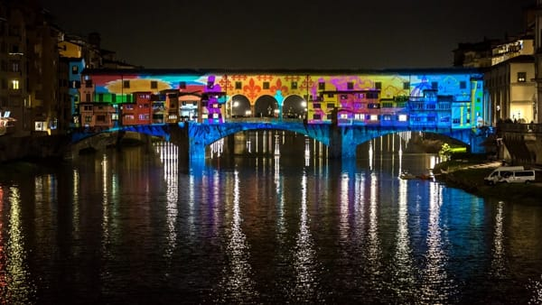 Torna F-Light, il festival che illumina Firenze