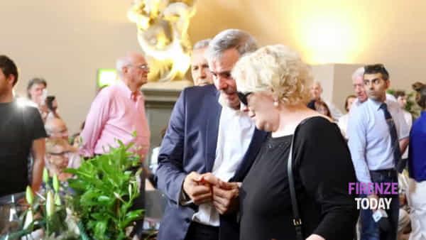 Zeffirelli: l'abbraccio di Firenze nella camera ardente / VIDEO