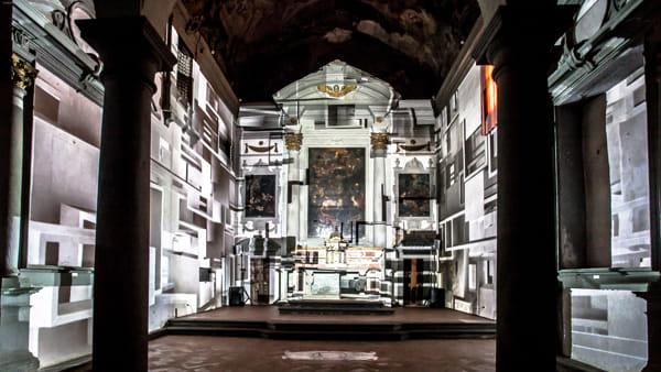 Chiostro geometrie: teatro, danza, musica e architettura