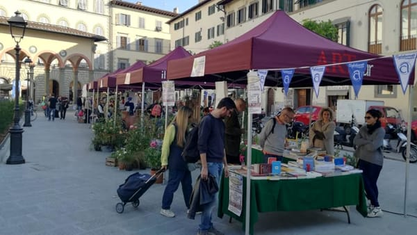 Torna il mercato in piazza dei Ciompi