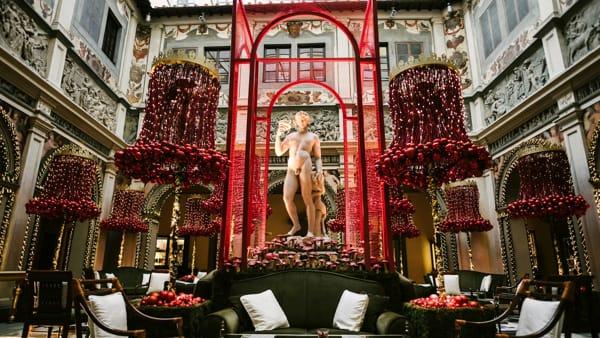 Mercato natalizio al Four Seasons Hotel Firenze