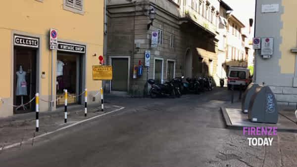 Incidente in Piazza de' Giudici: due in ospedale / FOTO