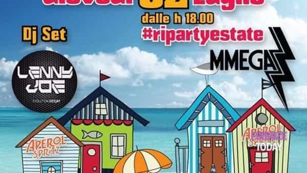 Al Dogana beach il RipartyEstate: musica e aperitivo