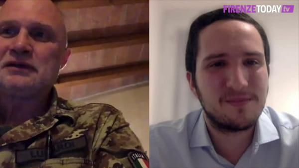 Da Bivigliano a Lodi: infermiere dell'esercito italiano al centro del mondo / VIDEO