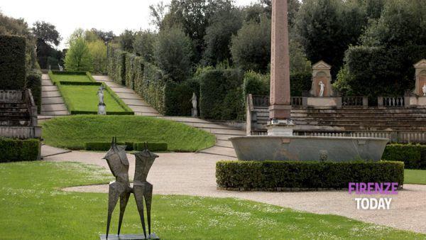 Le opere di Chadwick nel Giardino di Boboli e a Villa Bardini