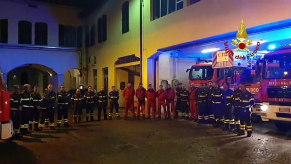 Vigili del fuoco morti ad Alessandria: il messaggio di cordogliodi un fiorentino