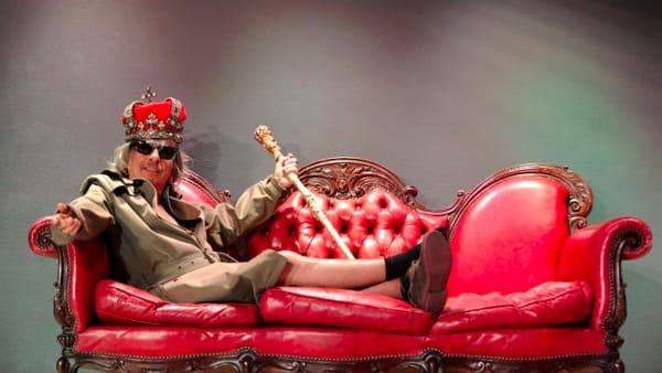 Teatro Puccini, Paolo Rossi: Il re anarchico e i fuorilegge di Versailles