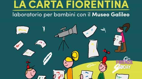 """""""Facciamo la carta fiorentina"""" - laboratorio per bambini"""