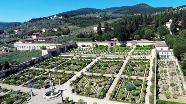 Le meraviglie del giardino della Villa Medicea di Castello