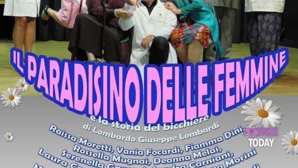 Il paradisino delle femmine - spettacolo per Casa Ronald Firenze