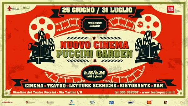 """""""Nuovo Cinema Puccini Garden"""": torna il cinema estivo. Ecco il programma"""