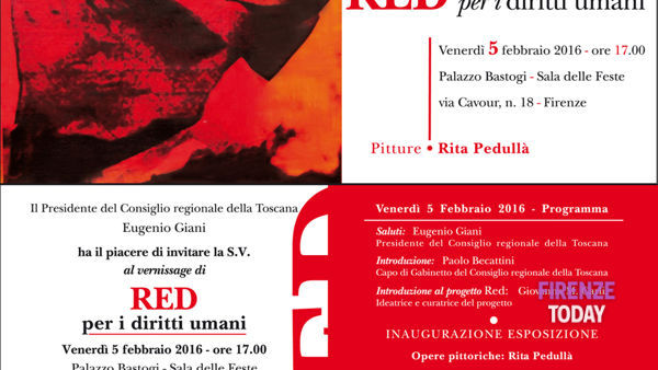 RED, il progetto artistico per i diritti umani