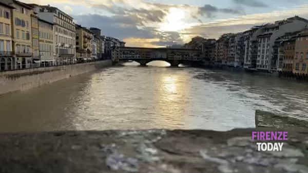 Maltempo, fiumi sorvegliati speciali: Arno in calo