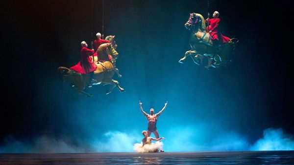 Il Cirque Du Soleil torna a Firenze