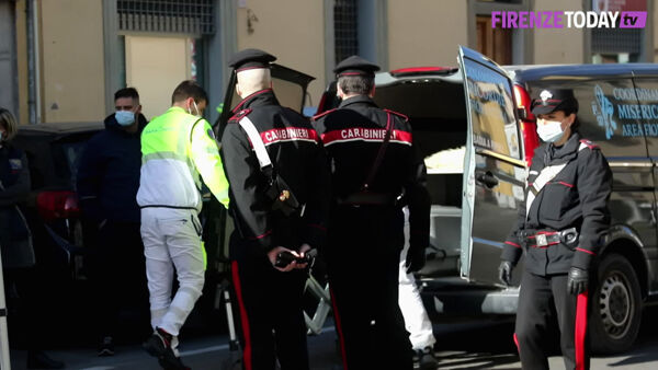 Incidente stradale in Via Aretina: muore carabiniere / VIDEO - FOTO