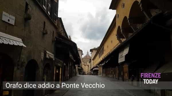 Arrivano i colossi stranieri: orafo fiorentino dice addio a Ponte Vecchio / VIDEO