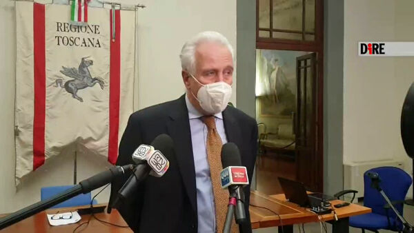 "Covid, Giani: ""Contagi in calo, possiamo sperare in zona gialla"" / VIDEO"
