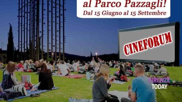 """Cineforum """"notti magiche al Parco Pazzagli"""" cinema e picnic sotto le stelle"""