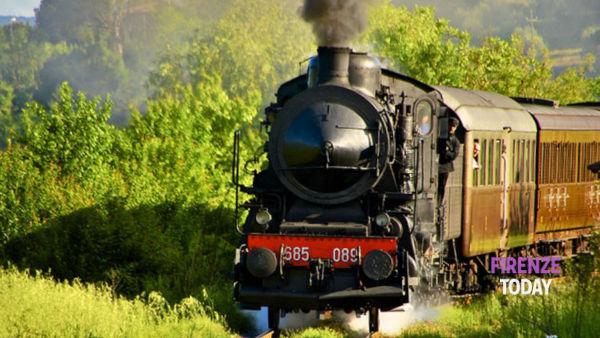 Treno a vapore dalla Toscana per la sagra delle castagne a Marradi