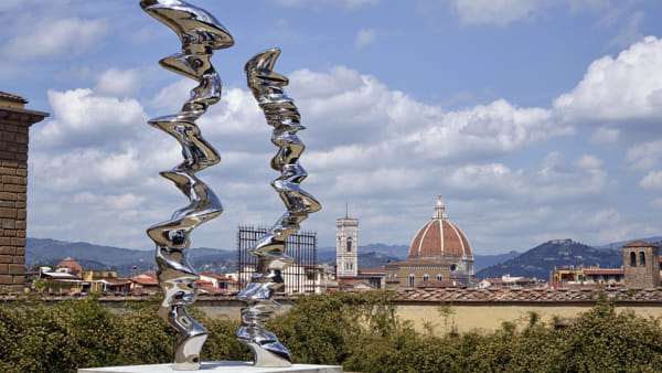 Giardino di Boboli: la mostra di Tony Cragg