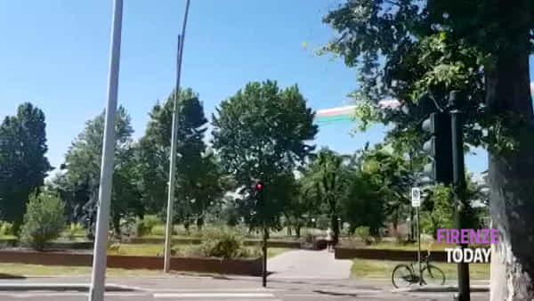 Le Frecce Tricolori passano sopra Firenze / VIDEO