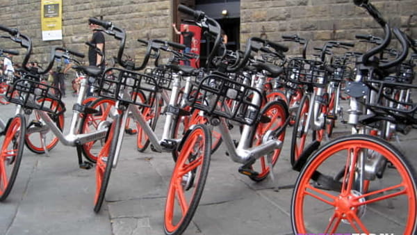 Bike Sharing, via alle Mobike anche a Scandicci