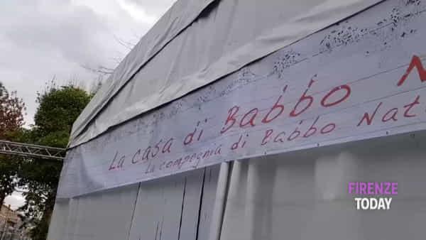 Natale: apre Florence Ice Village, la pista di ghiaccio più lunga d'Europa / VIDEO