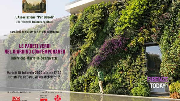 Le pareti verdi nel giardino contemporaneo