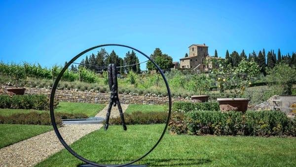Un itinerario nel Chianti tra le sculture di Nathalie Decoster