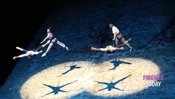 Concerto sulla Torre di San Niccolò con esibizione di danza verticale