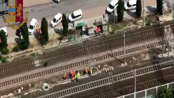 Incendio di Rovezzano: indagini sull'attentato alle centraline dell'Alta Velocità