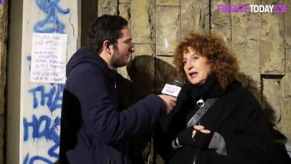 """Piazza Alberti: perché è stato """"smontato"""" il Muro della gentilezza / VIDEO"""