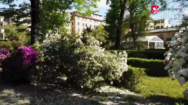 I giardini di Firenze in fiore: il video con il drone / VIDEO