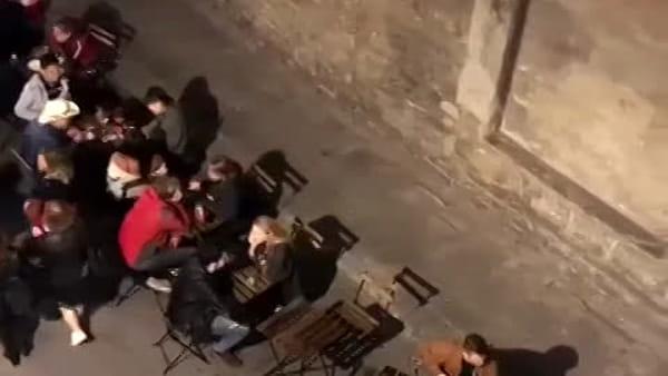 Movida in Borgo la Croce: i residenti protestano / VIDEO